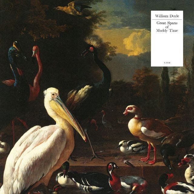 """""""Great Spans of Muddy Time""""  Pelican White Vinyl LP"""