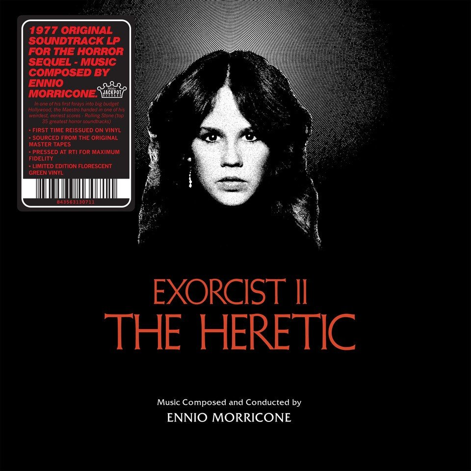 Exorcist II: The Heretic LP  - Pressed at RTI for Maximum Fidelity. Limited Edition Florescent Green Vinyl.