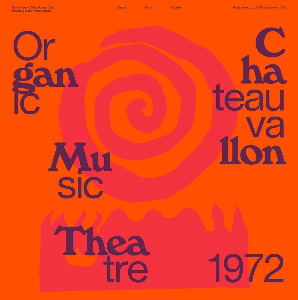 """Don Cherry's New Researches featuring Naná Vasconcelos  """"Organic Music Theatre: Festival de jazz de Chateauvallon 1972"""" 2 X LP"""