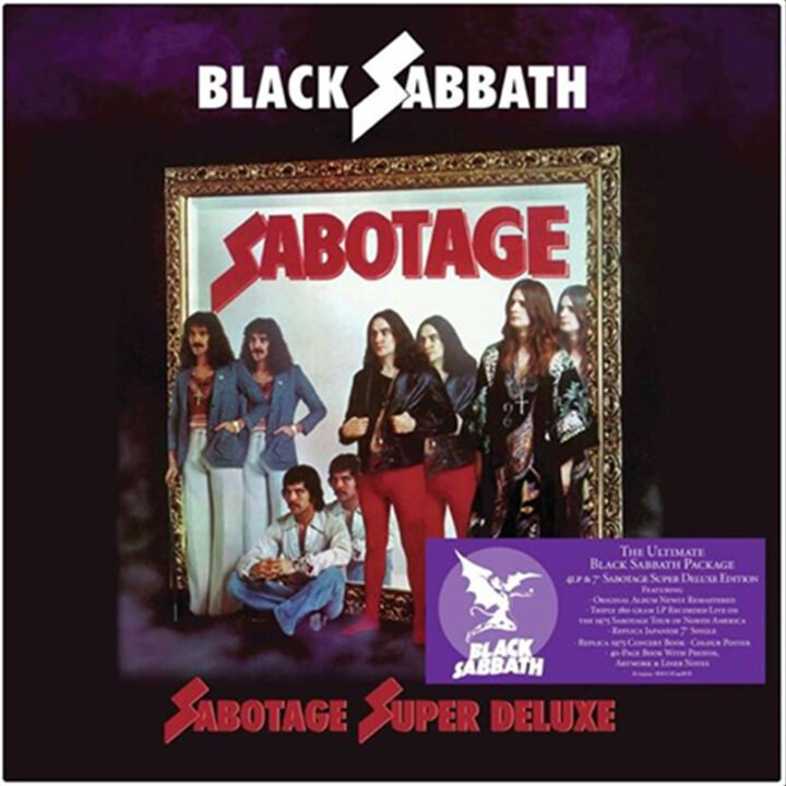 Sabotage (Remastered): The Ultimate Super Deluxe Package 4 X 180g LP +7″ – Vinyl Boxset