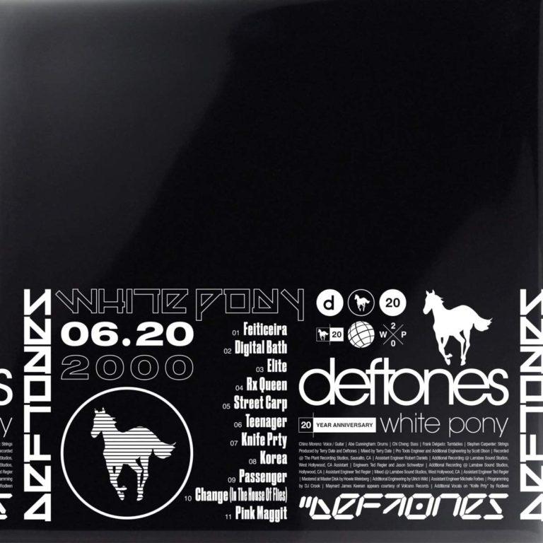 White Pony (20th Anniversary) 4 X LP
